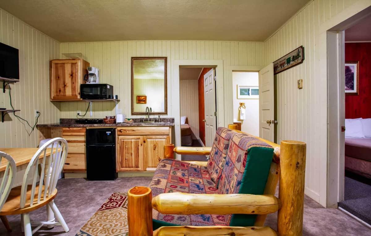 Old Time Cabin #11 - kitchenette