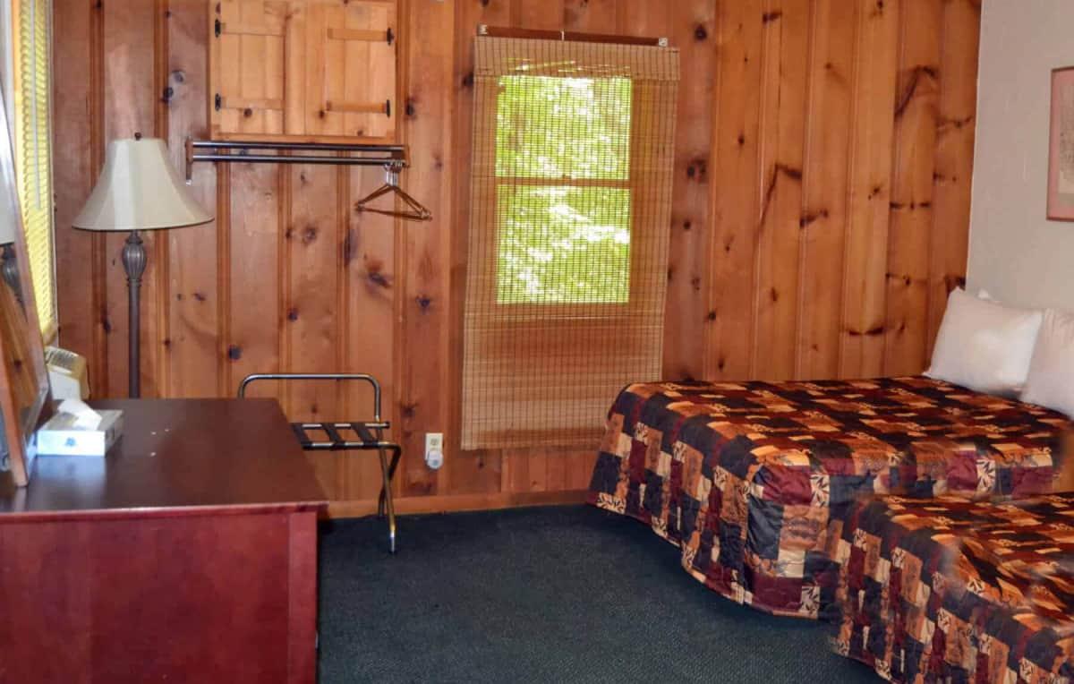 Cabin 12 interior