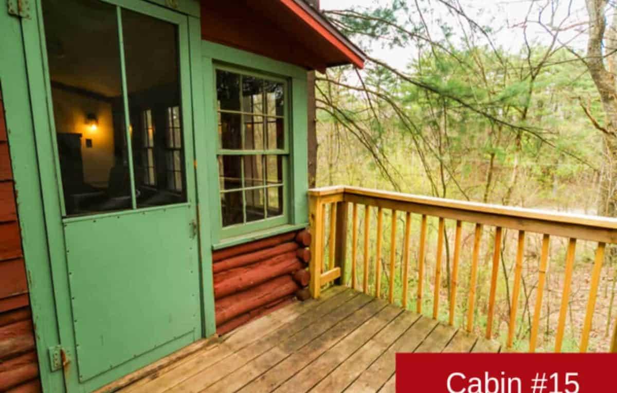 Cabin 15 exterior