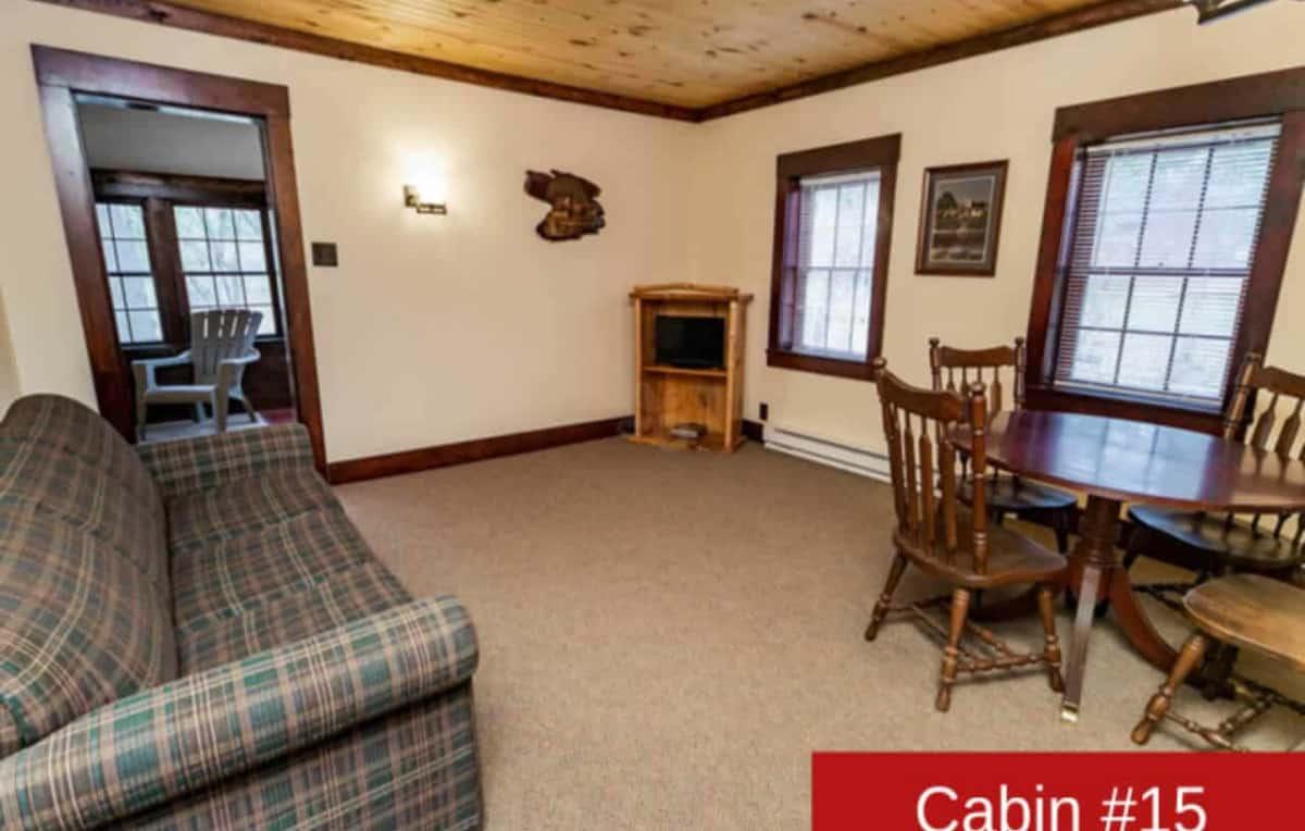 Cabin 15 interior