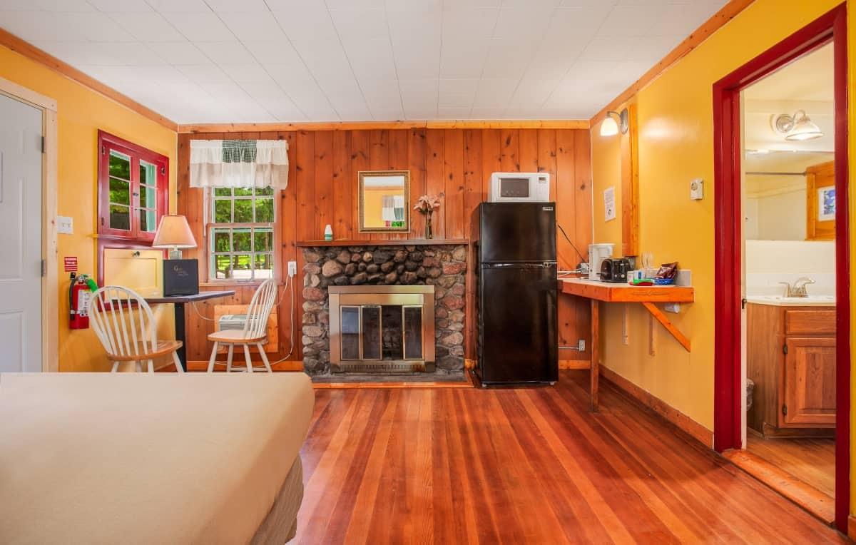 Cabin for 2 - interior view