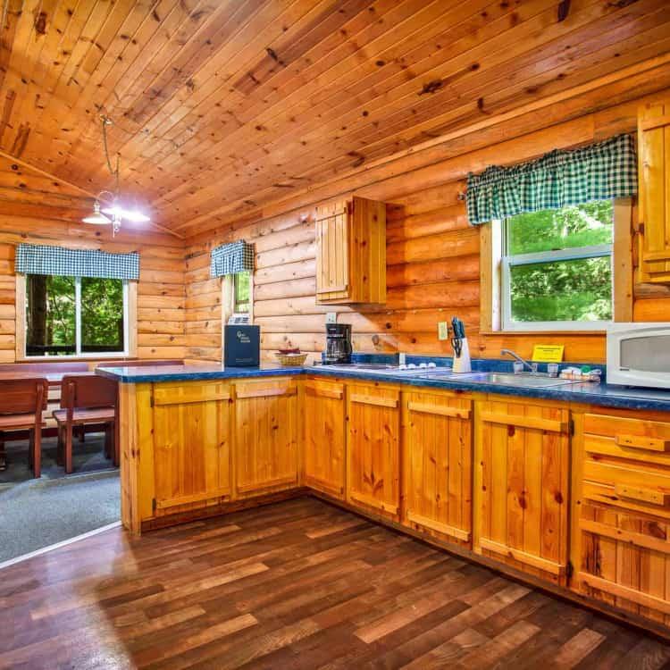 Private Cabin #1 - kitchen