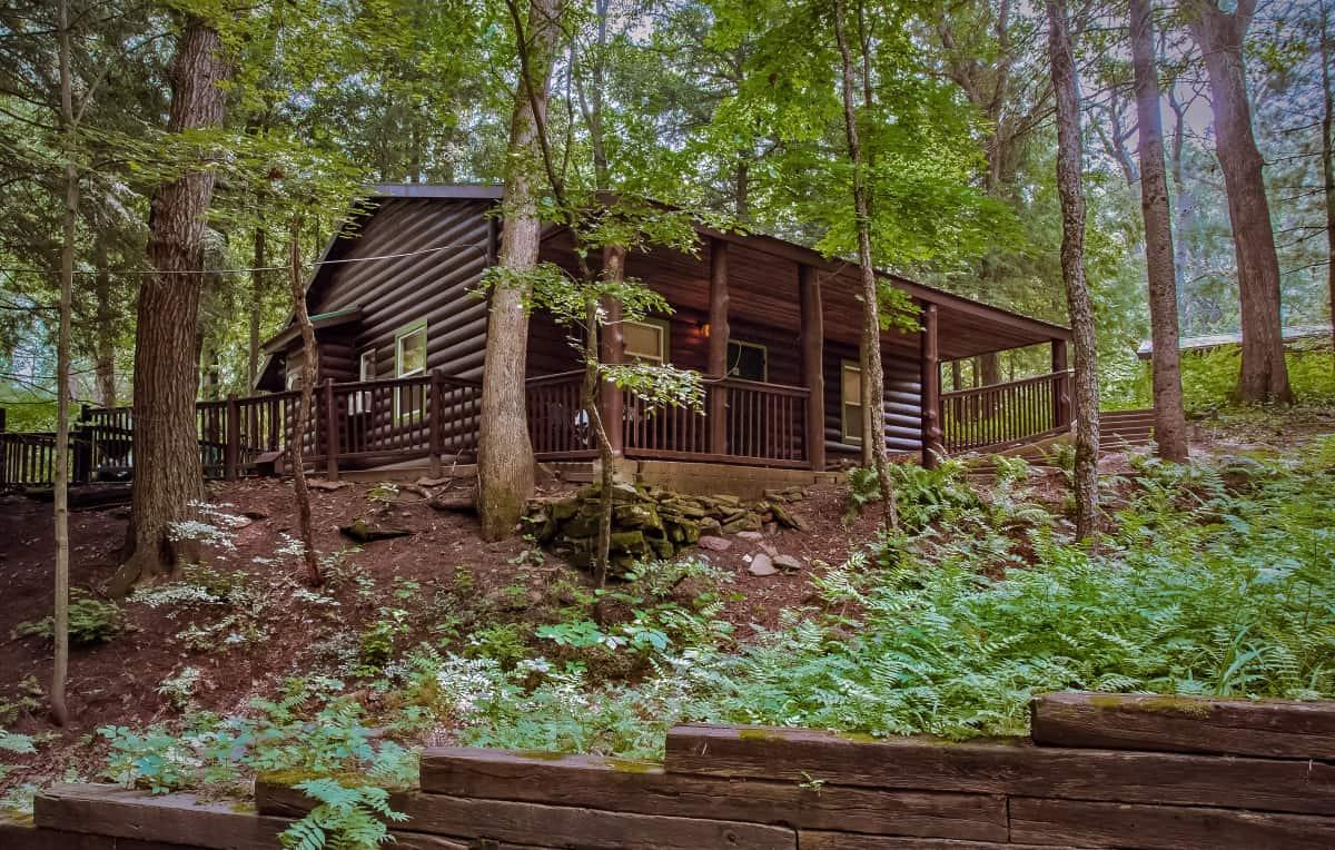 Private Cabin #2 - exterior view