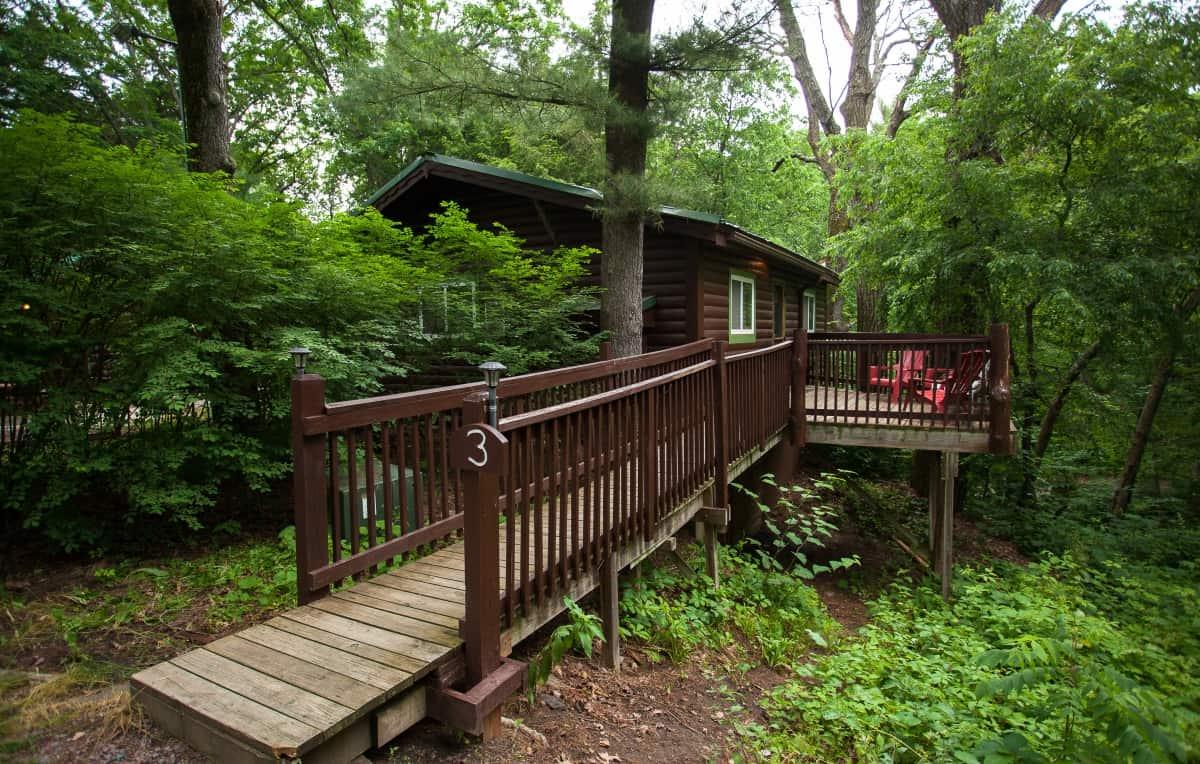 Private Cabin #3 - exterior entrance